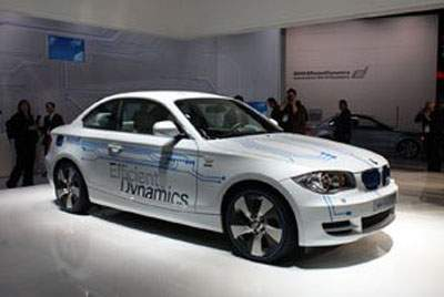 Электромобиль BMW ActiveE